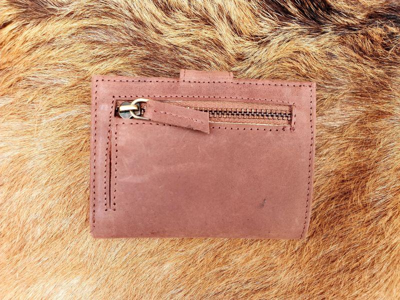 431d9984422 Home / Heren / Heren portemonnees / Pasjes/ creditcard houder / Kleine  lederen portemonnee voor geld en pasjes, bruin