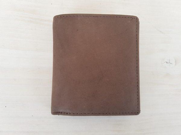 Hoge geschuurd lederen heren portemonnee