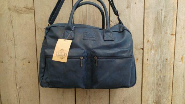 Aanbieding: Kunstlederen Cowboy-Bag Beagles tas