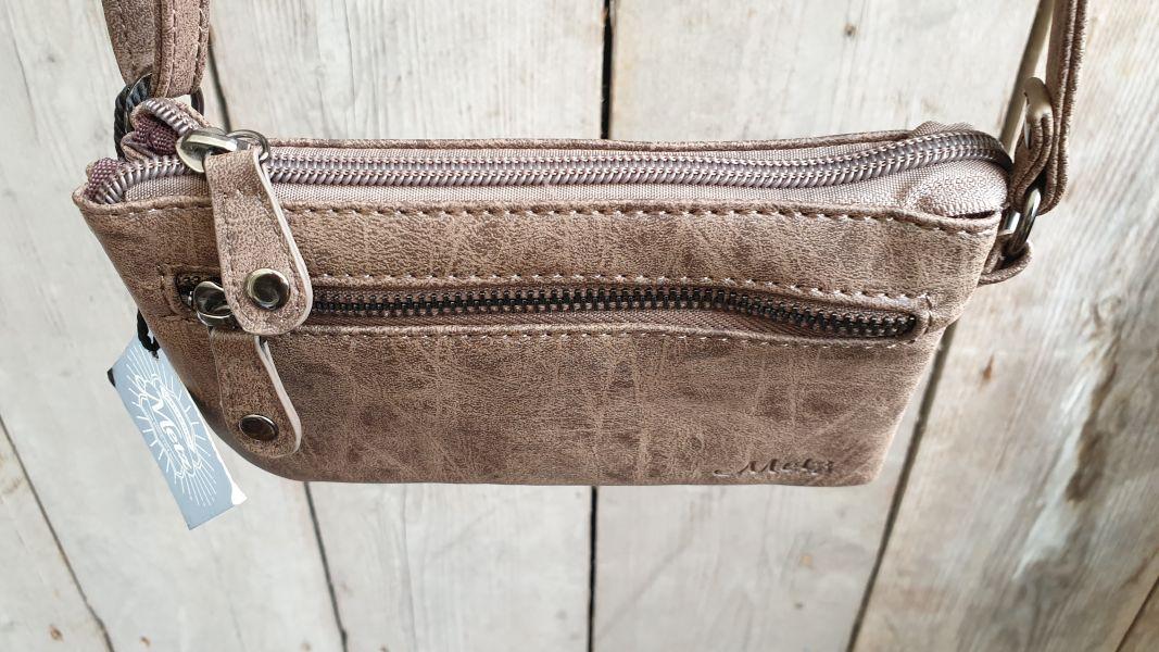 2a2a5e65c1b Home / Dames / Dames tassen / Heup/ festival tassen / Leuk mini stap- en  portemonnee tasje, bruin