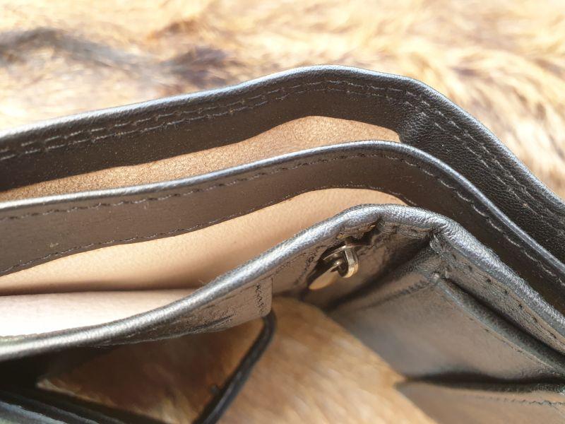 Zwarte Heren Portemonnee.Beste Kwaliteit Heren Portemonnee Hoog Model Zwart