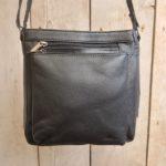 Ruime lederen METZ tas, fijn voor dagelijks gebruik