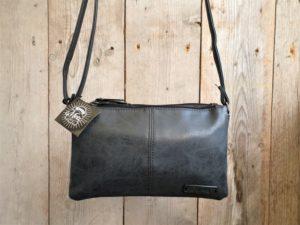 Metz tas zwart met 2 ruime aparte vakken