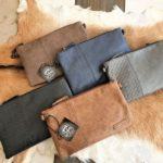 METZ, schoudertas en clutch tasje tegelijk in diverse kleuren