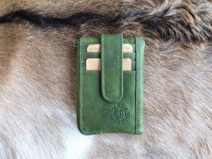 Pasjeshouder, portemonneetje en sleutelhanger, groen