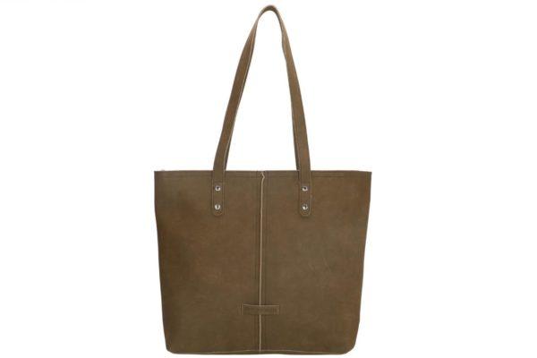 Grote Enrico Benetti shopper Sophie, olijf groen