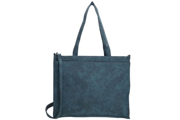 Beagles Shopper tas Albequerque, blauw kunstleder