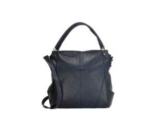 PU-shopper en schoudertas, Enrico Benetti blauw