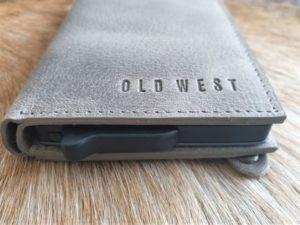 Old West creditcards, anti skim en portemonnee, taupe leder